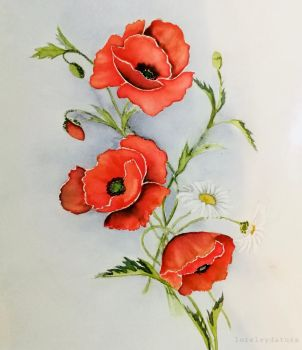 Mohn by Loreleydatura