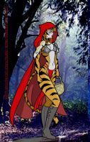 Little Red Riding Tiger by Inspector97