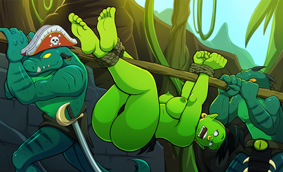 Captain Greenbelly's Island Misadventure by Roxley-D