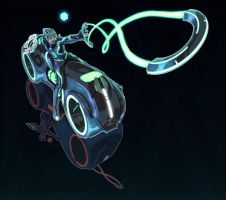 Zelda + Tron (FSRX) by ZedEdge
