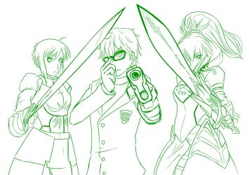 2 Fate Stay Persona - Ready for Action by mattwilson83