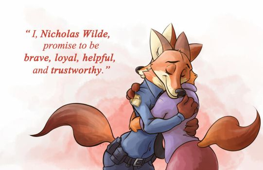 Proud Mom [Zootopia Spoilers] by KingdomBlade
