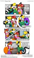Vicki Fox guest strip by LittleTiger488