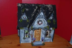 Haunted Orchid Dollhouse by DollzMaker