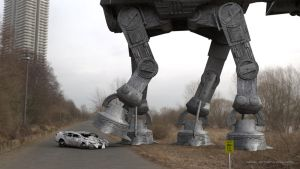 AT-AT XING by ArtFunart4fun