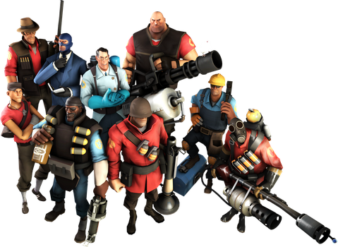 SFM Mercenaries by Yhrite