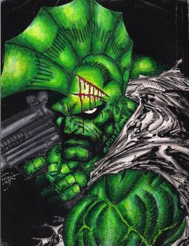 savage dragon by erik larson by shinichizen