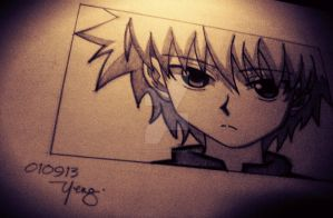killua by almightyeng