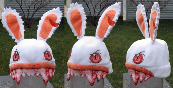 Evil Rabbid Hat by clearkid