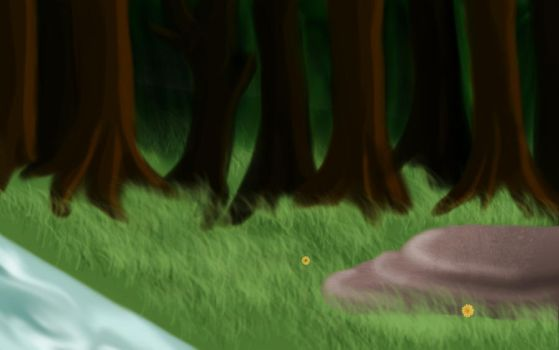 WolfHome Room Background by xAbyssneyxx