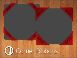 Corner Ribbons by sirjeffoakley