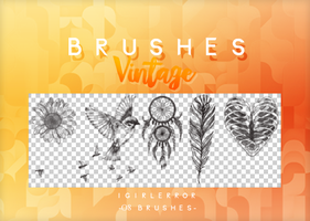 BRUSHES VINTAGE | FREE DOWNLOAD by iGirlError