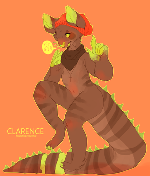 Clarence by knifespoonrazor