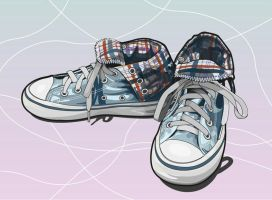 Shoes Vector Assignment by hyoori