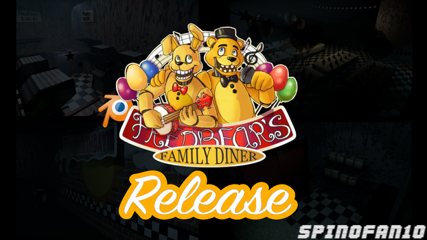 Fredbears Family Diner Map Pre-Release by Spinofan10