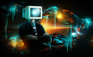 TV Man by WanderlustGFX