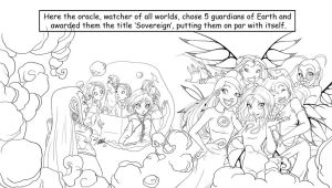 WITCH Sovereign Comic - Preview by YummingDoe4