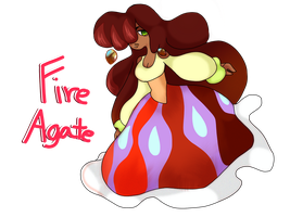 Gem Adopt #1: Fire Agate [CLOSED] by Scarlet-Tea