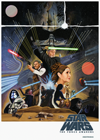 Star Wars Episode VII The Force Awakens by MessyPandas