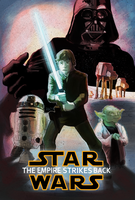 The Empire Strikes Back by fluoroid