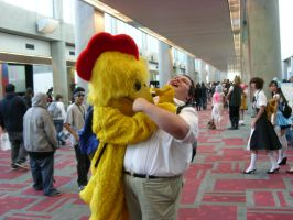 Peter Griffin vs. The Chicken by MrAlexSan