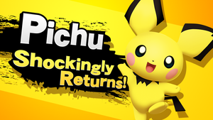 Pichu Shockingly Returns! by KryptonLion