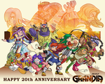 Grandia 20th Anniversary by The-Quill-Warrior