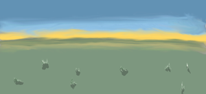 I Tried to Do A Landscape...