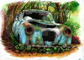 old car by c-razycheese