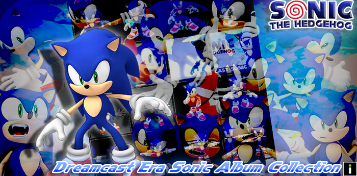 Dreamcast Era Sonic Album Collection LINK by Nibroc-Rock