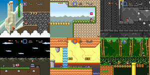 Super Mario Bros Doomsday Screenshots (March 2015) by BuzzNBen
