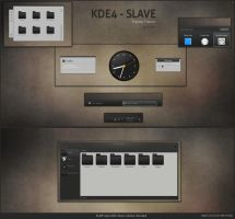 KDE4 - SLAVE by half-left