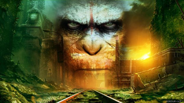 Planet of the apes - Wallpaper by XieSpace