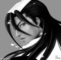 Bleach: Byakuya by KaibaCorpMilk