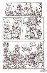 A Random Touhou Strip (1/2) by GinosAiden91