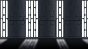 Star Wars Imperial wall panel by Balsavor