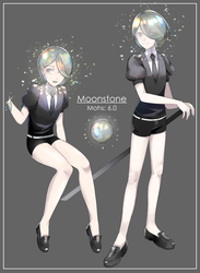 HNK OC: Moonstone by sachidraws