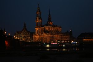 Dresden: Hofkirche at Night by LoveForDetails