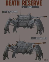 Death Reserve Nazi Spider Tanks by VonKreep1313