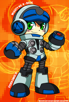 Mighty No. 9 - Beck (Powered Up) by stevenchase