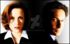 Mulder And Scully by demonika