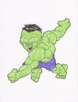 SAVAGE HULK by hclix