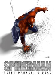 SPIDERMAN - PETER PARKER IS DEAD by ISIKOL