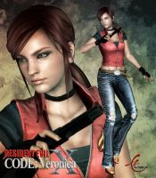 RESIDENT EVIL CVX: CLAIRE REDFIELD by KitMartin