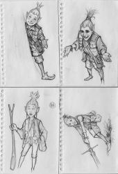 a couple of new sketches2 by dron111