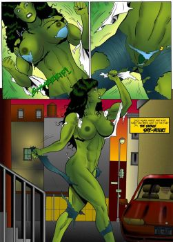 She-Hulk Transform 6 by SHrrrrrriiipfan
