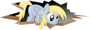 Derpy broke your background! by AxemGR