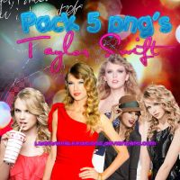 Taylor Swift 5 PNG's Pack by LibertyWalkEditions
