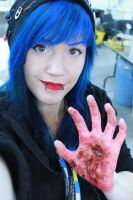 me and my 3rd degree burn makeup by CupCakeMonsterCrafts