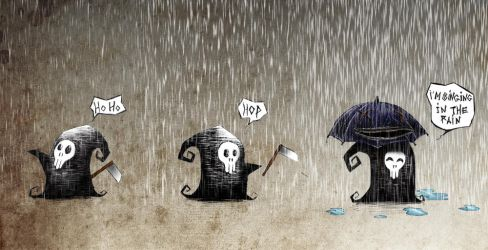 The Rain by ensombrecer